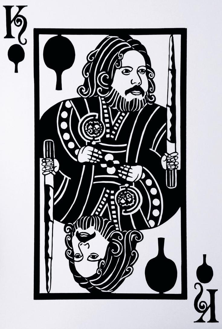 King of Brasil - Paper cutout of Dan Fogler by weblore