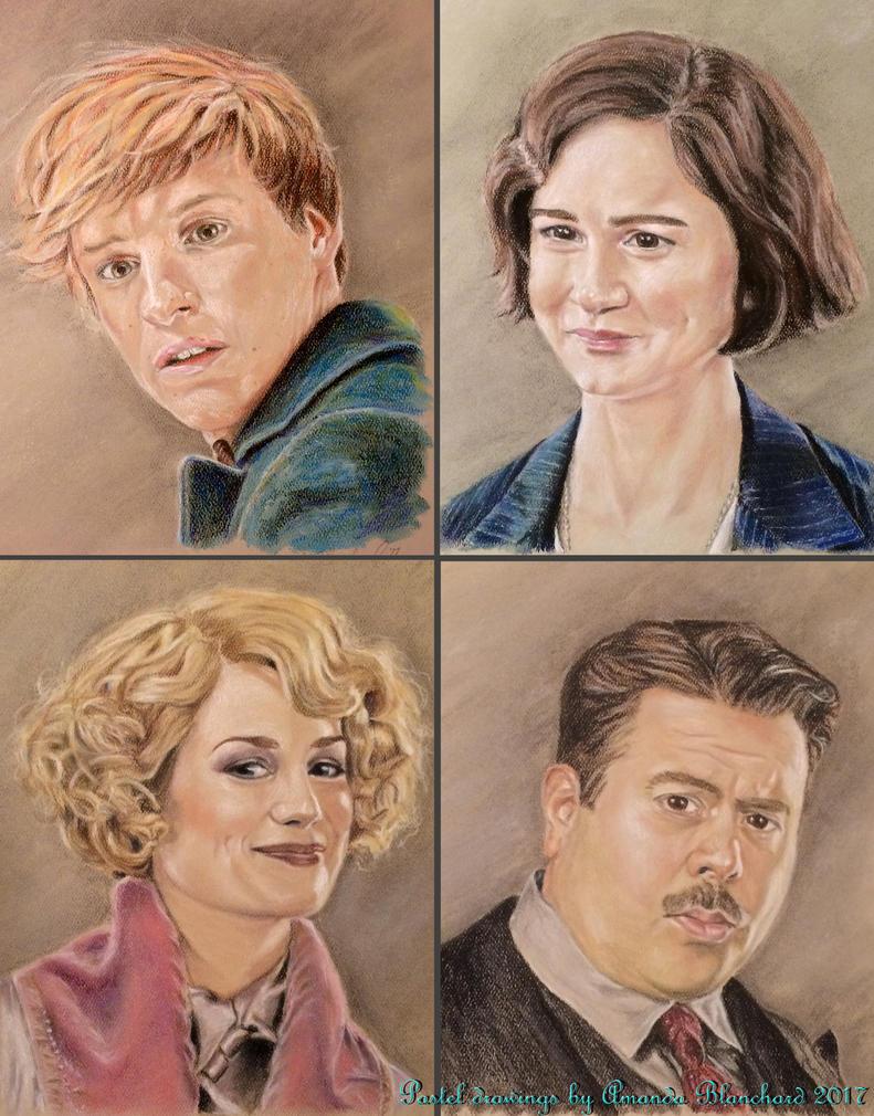 Fantastic Portraits - Pastels by weblore
