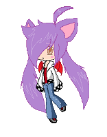 Ace :First pixel Chibi: by PKFoxas
