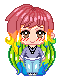 Pixel Keiko :Commission 2 of 2: by PKFoxas