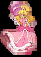 Princess Peach by PKFoxas