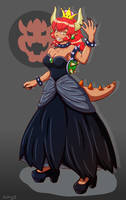 Bowsette Fanart by Antharias