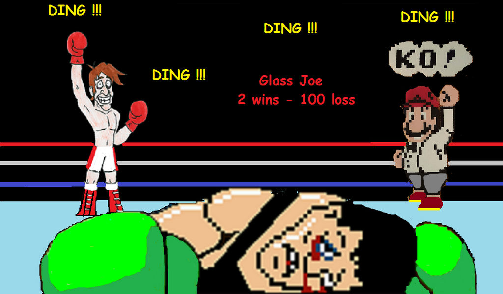 Punch Out Glass Joe Defeated Mac By Kallyxmansion55 On