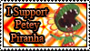 Petey Piranha Stamp by Dash by piranhaplant