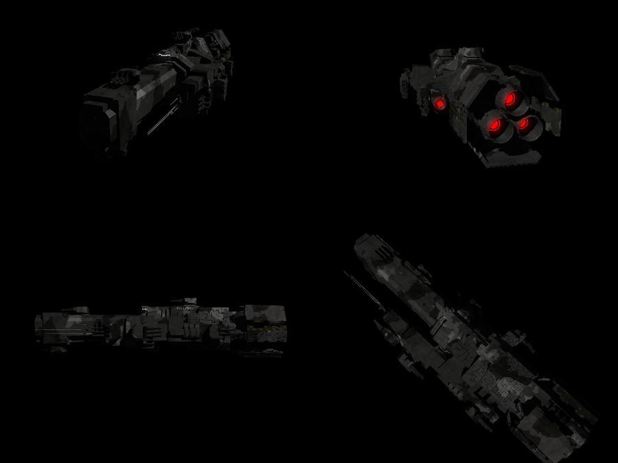 Alliance Battleship Redux by MazerRackham