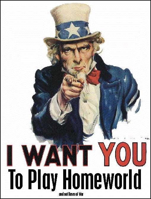 Uncle Sam Loves Homeworld by MazerRackham