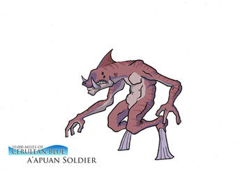 A'Apuan Soldier by TheGreatMrChibi