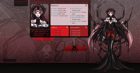 Character Profile :: Guillotine - Toyhou.se