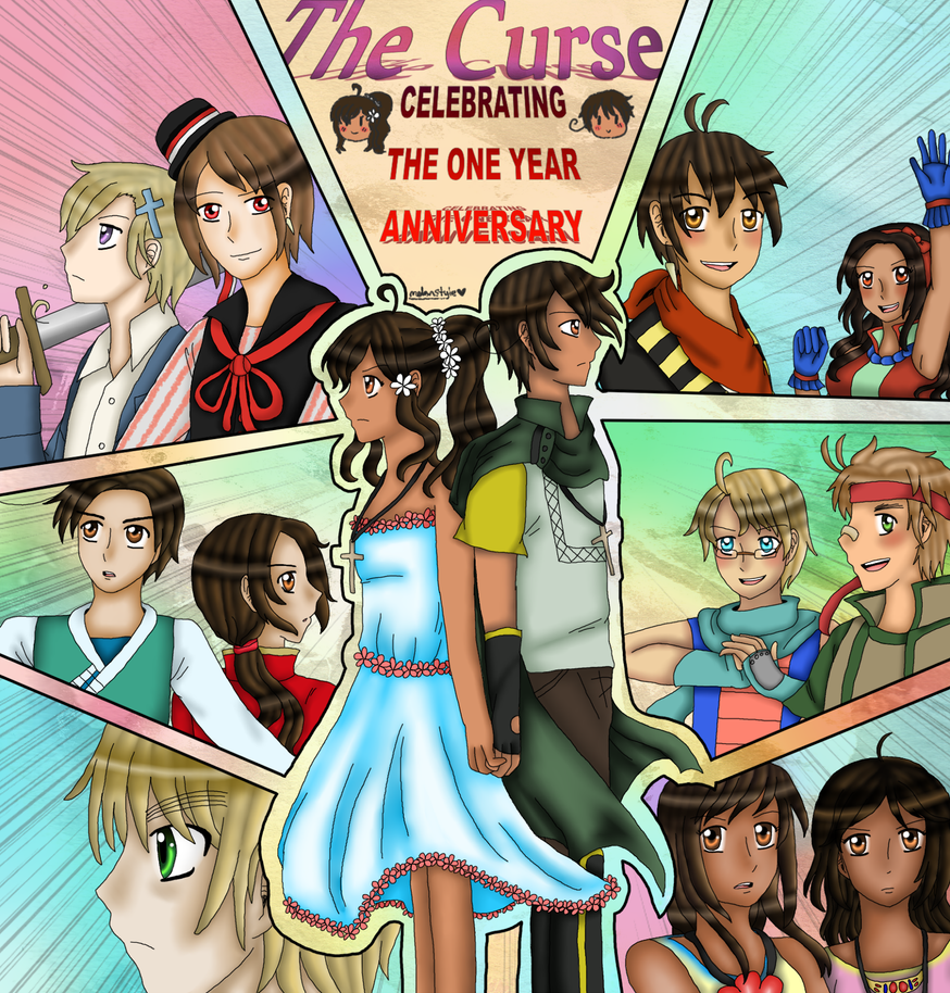 [THE CURSE] anniversary 17.07 by melonstyle