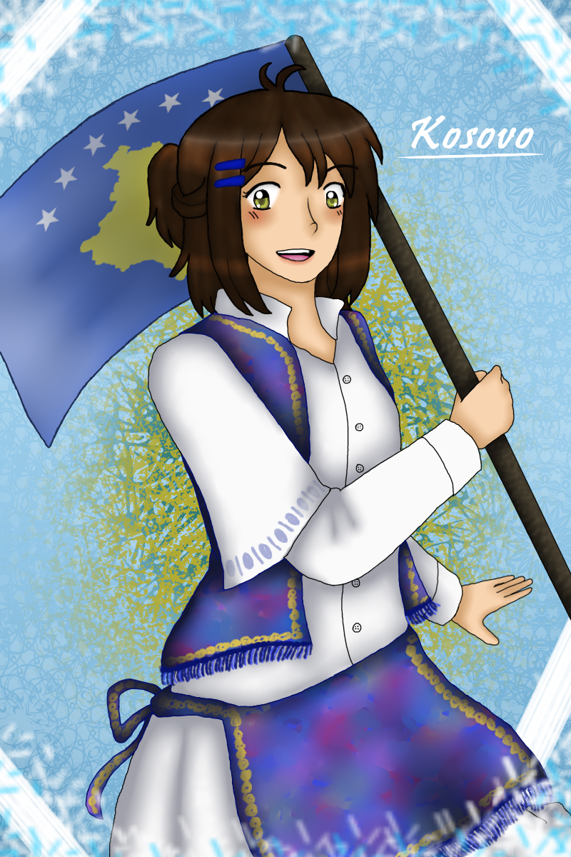 [APH OC] Kosovo by melonstyle