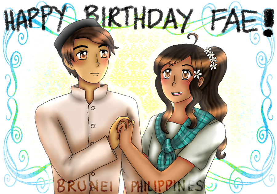 HBD FABULOUSFAE [BRUPHIL] by melonstyle