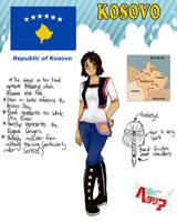 [HETALIA] Kosovo Profile by melondramatics