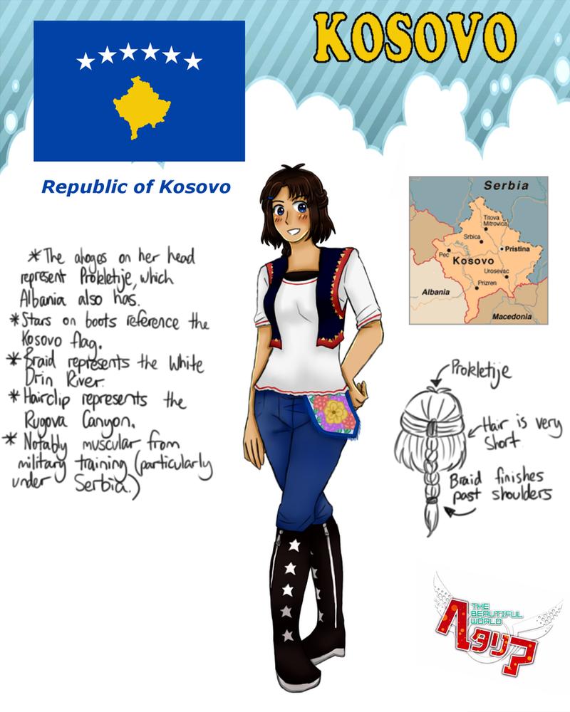 [HETALIA] Kosovo Profile by melonstyle