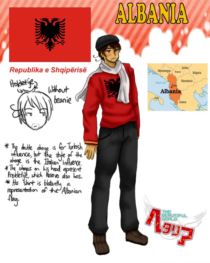 [HETALIA] Albania Profile by melonstyle