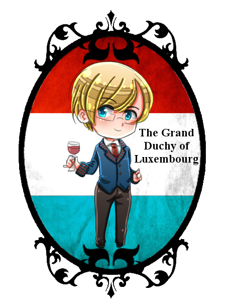 [HETAOC] Chibi Luxembourg by melonstyle