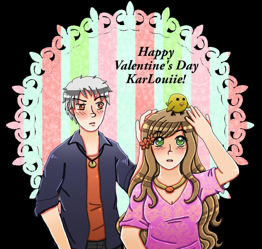 [SECRET VALENTINE] For KarLouiie by melonstyle