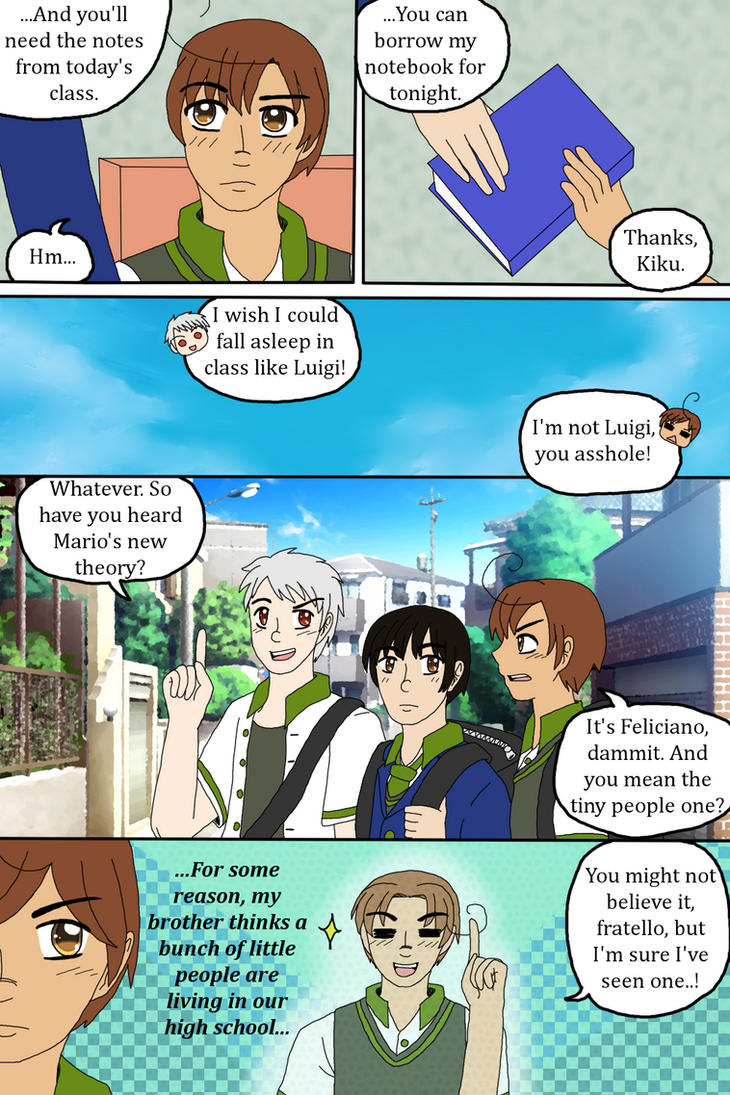[HETADOUJIN] Elementary P7 by melonstyle
