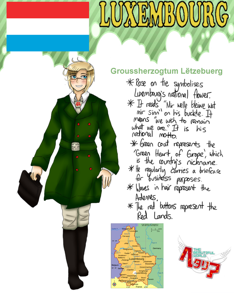 [HETALIA] Luxembourg Profile by melonstyle