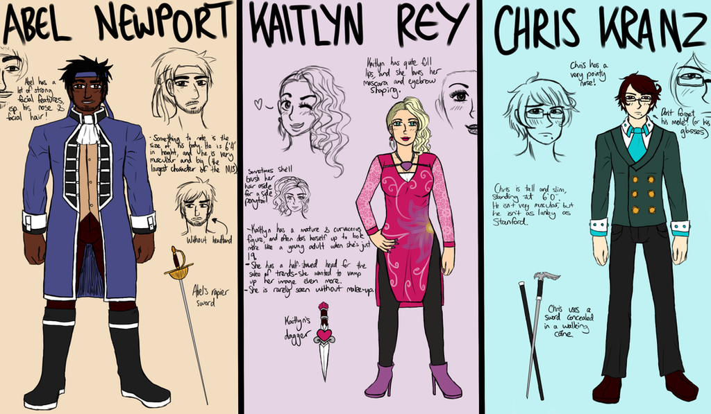 [MYSTIC SHOW SERIES] Full Body References 3 by melonstyle