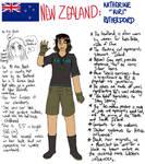My interpretation of my homeland NZ