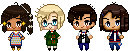 ATTEMPTS THE PIXEL STYLE by melondramatics