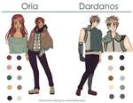 [NaNoWriMo] Oria and Dardanos