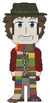 Chibi Fourth Doctor