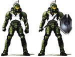 Halo - 'Spartan' Armor Variant