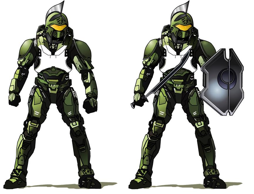Halo Spartan Armor Variant By Randy C10 On Deviantart