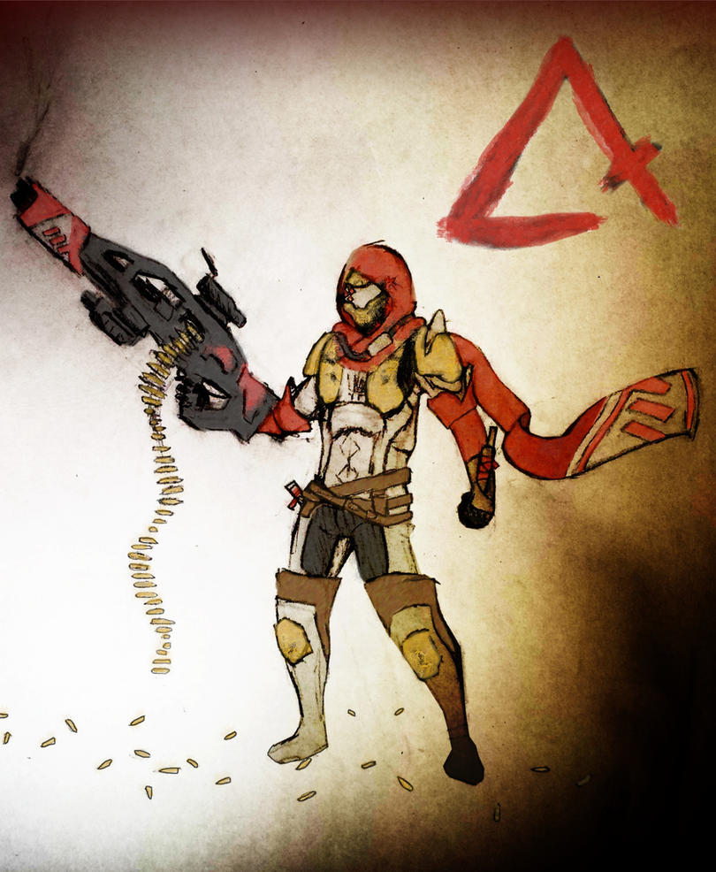 New Monarchy Hunter - Destiny Year One Art Contest by Randy-355