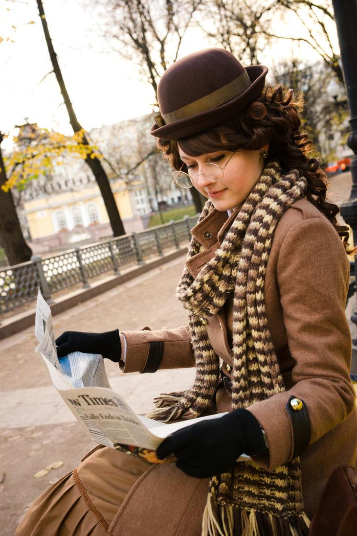 Inspired by John Watson style. Reading Times. by 8Liru-chan8