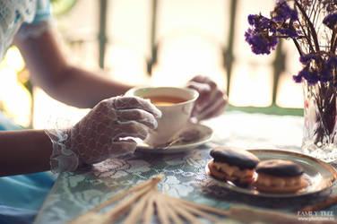 Tea Time. My favourite confectionar's shop. by 8Liru-chan8