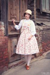 Country Lolita. Rose Dress.