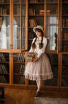 Country Lolita. Library.