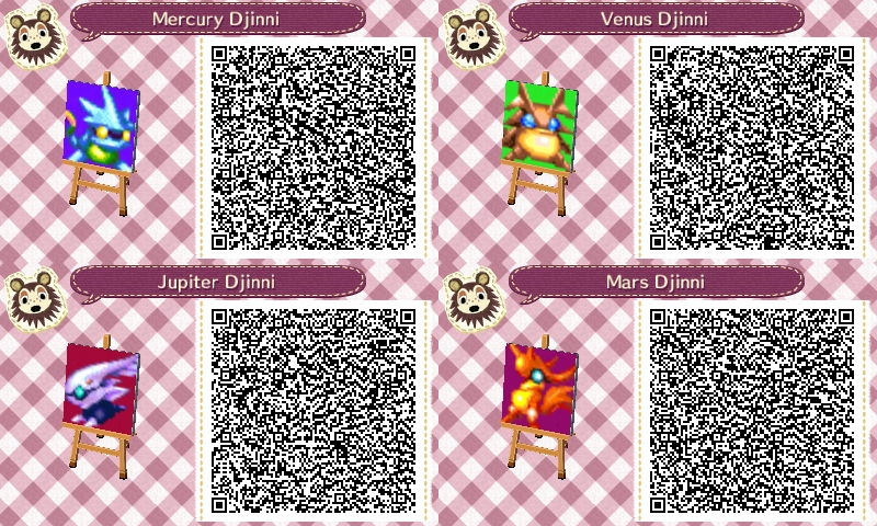 Preferenza Animal Crossing: New Leaf QR Code - Djinn by E2x7u on DeviantArt TX78