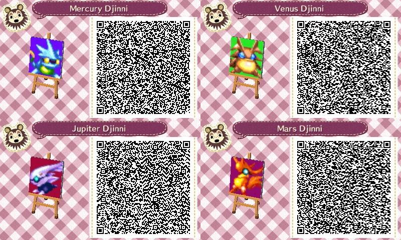 Animal Crossing: New Leaf QR Code - Djinn by E2x7u