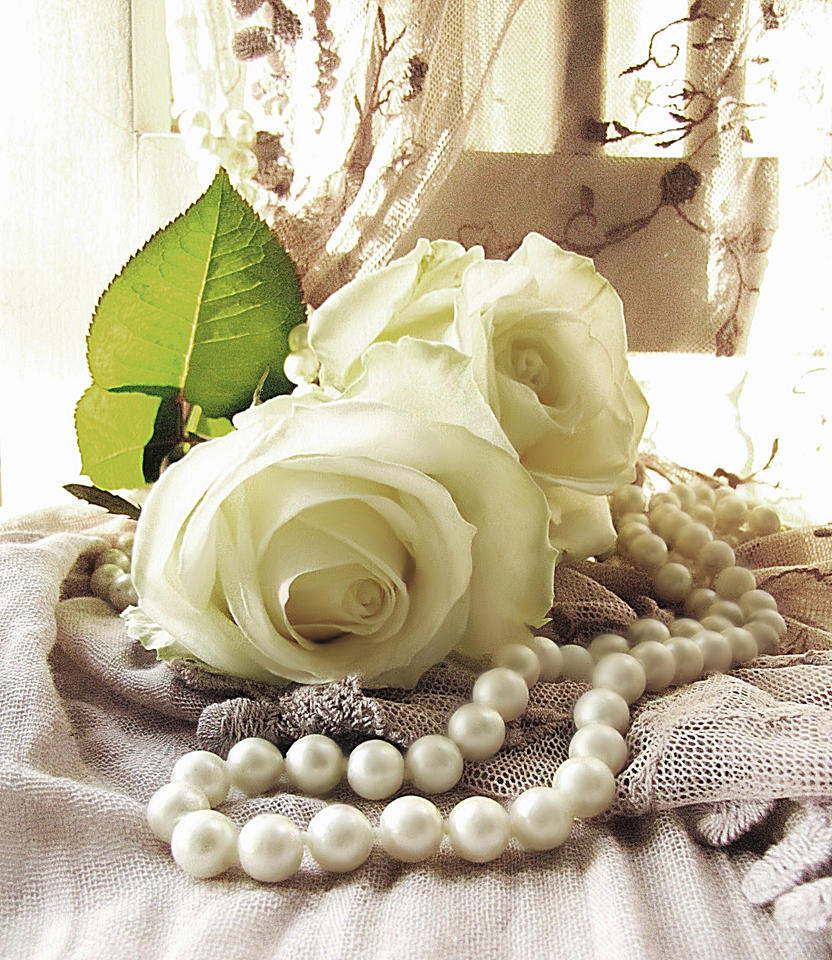 roses and pearls - photo #19