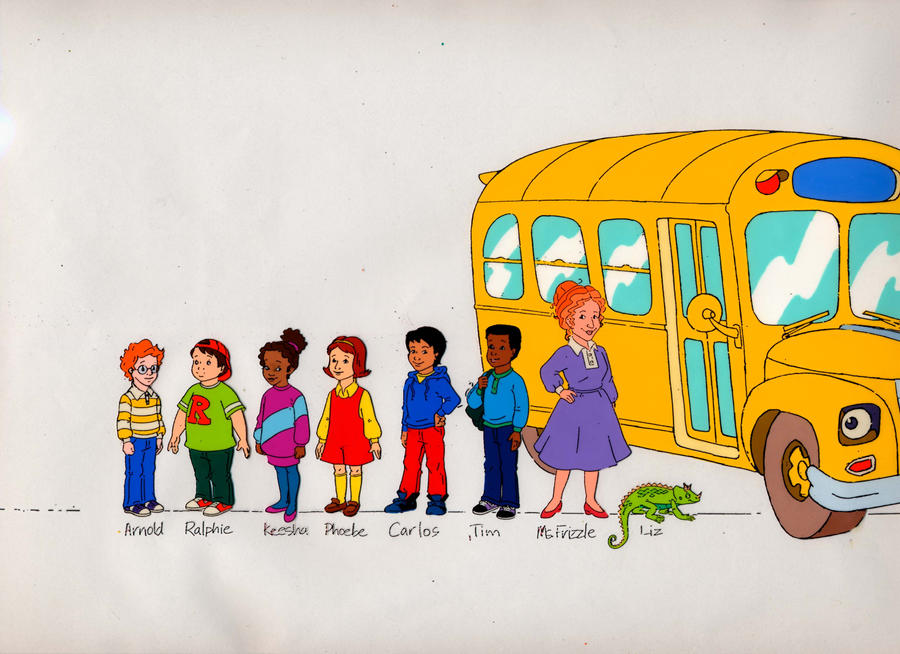 Magic School Bus by dtwicked