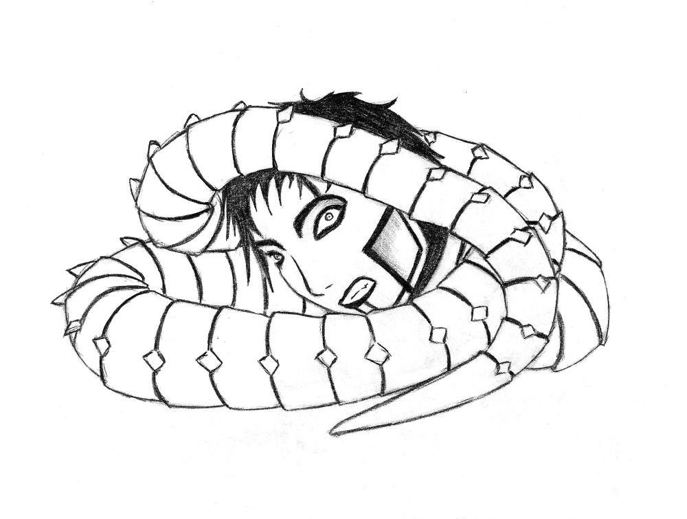 The Spine (Snake Edition) by Kinshi-Setsunai