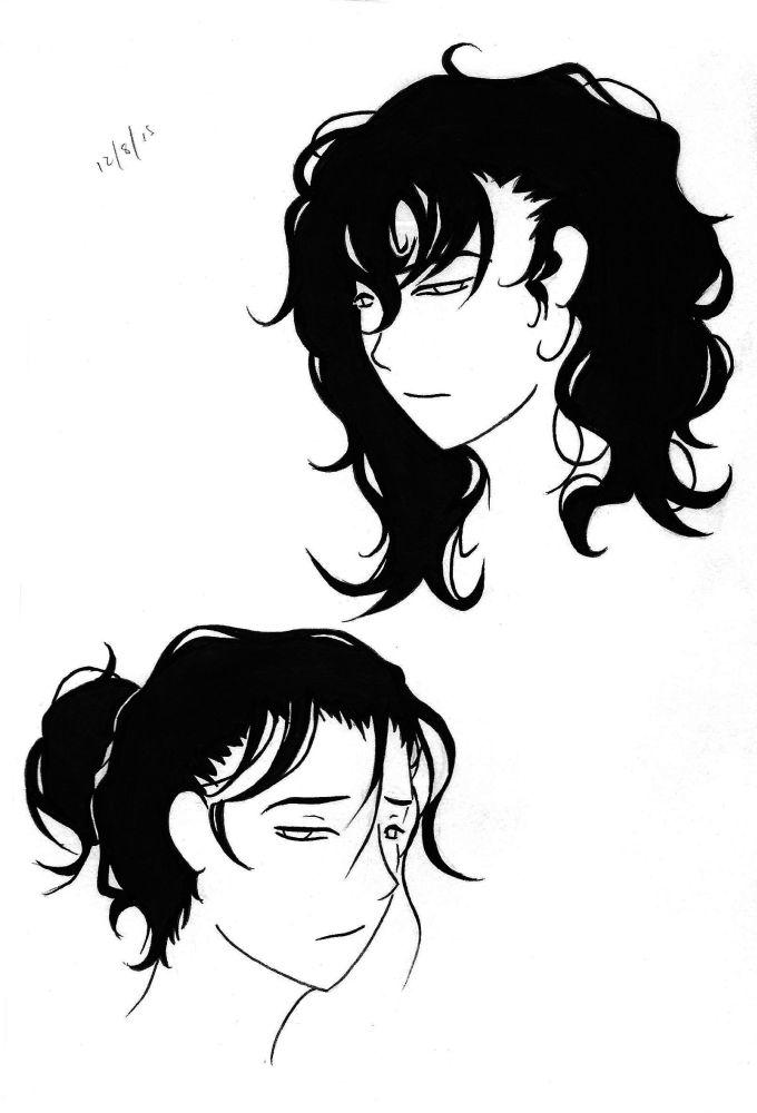 Hair Doodle by Kinshi-Setsunai