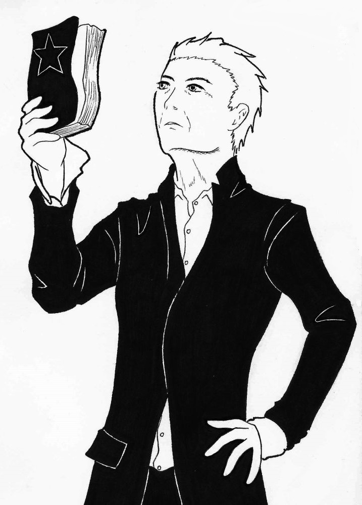 David Bowie by Kinshi-Setsunai