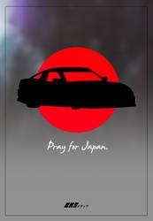 PrayForJapan Poster