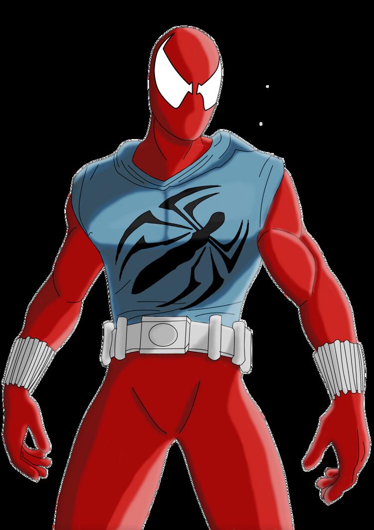 Scarlet spiderman