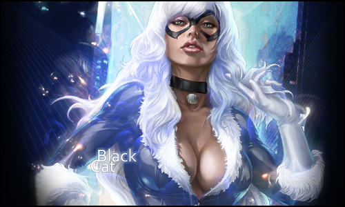Black Cat by Dhencod