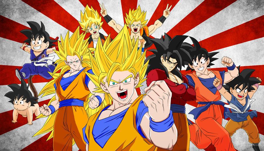 History of Legend - Son Goku