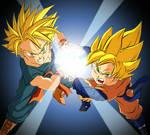 Friendship Power - Trunks and Goten