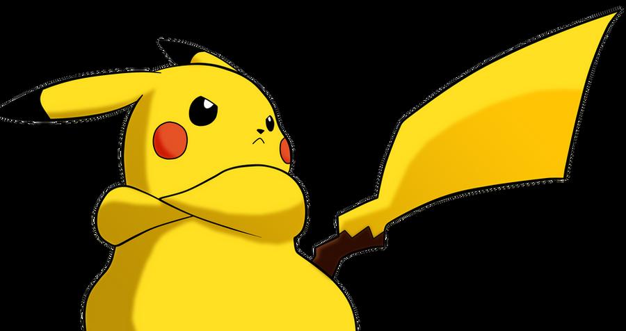Pikachu Epic Pose