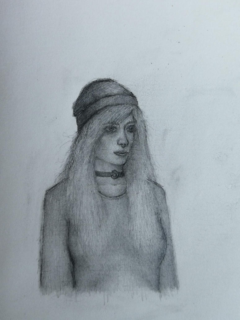 Girl Sketch #1 by Tyiphus