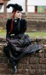 Dark Victorian Goth Stock 001