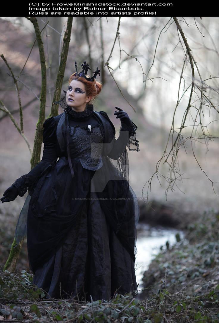 Evil Queen Gothic Stock 004